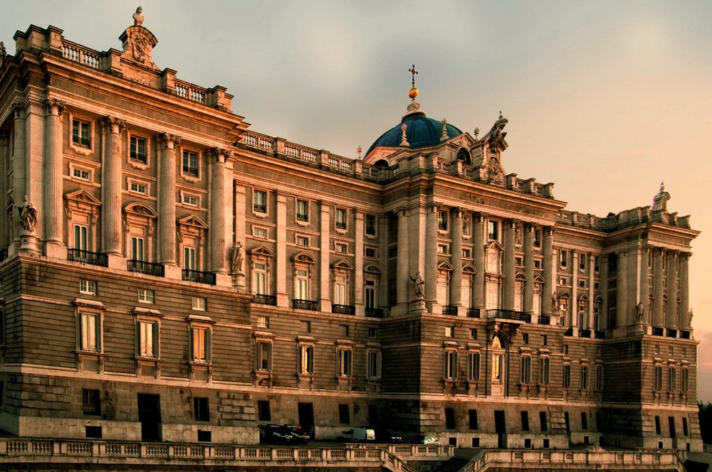 Palacio Real de Madrid. Palacio de Oriente.