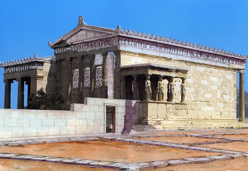 La arquitectura griega va por ustedes for 5 tecnicas de la arquitectura