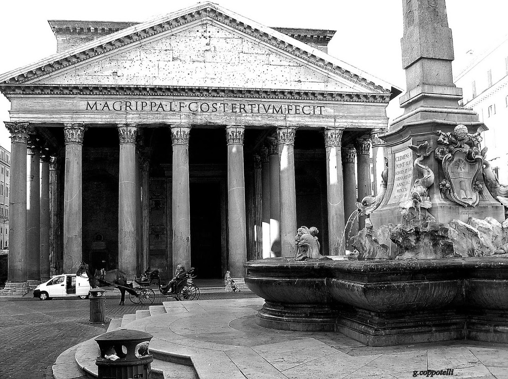 Panteón de Agripa en Roma.