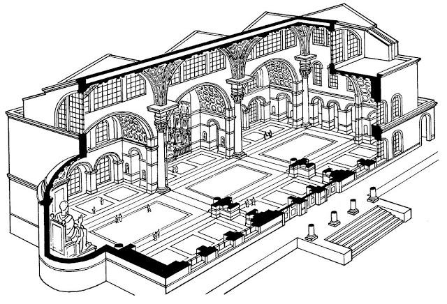 Basílica de Majencio, reconstrucción