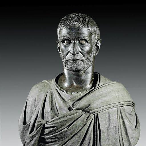 Lucius Junius Brutus, fechada en el siglo IV a.C., MUSEO CAPITOLINO