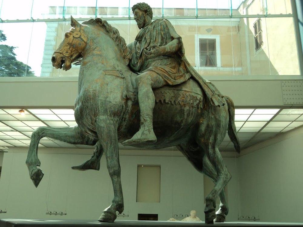 Marco Aurelio,  Museo Capitolino