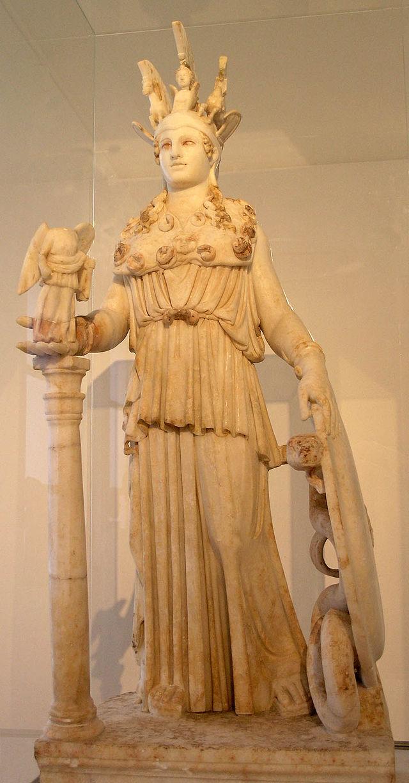 Atenea Partenos. Museo Arqueológico Nacional de Atenas.