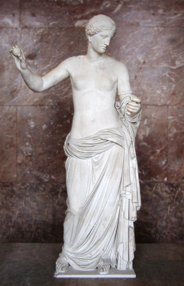 Afrodita de Arles . Museo del Louvre