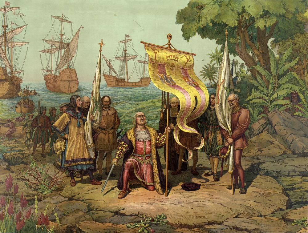 Colón llega a América by Gergio Deluci.jpg