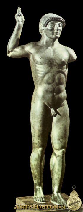 Museo Nacional Etrusco de Villa Giulia, estatua votiva