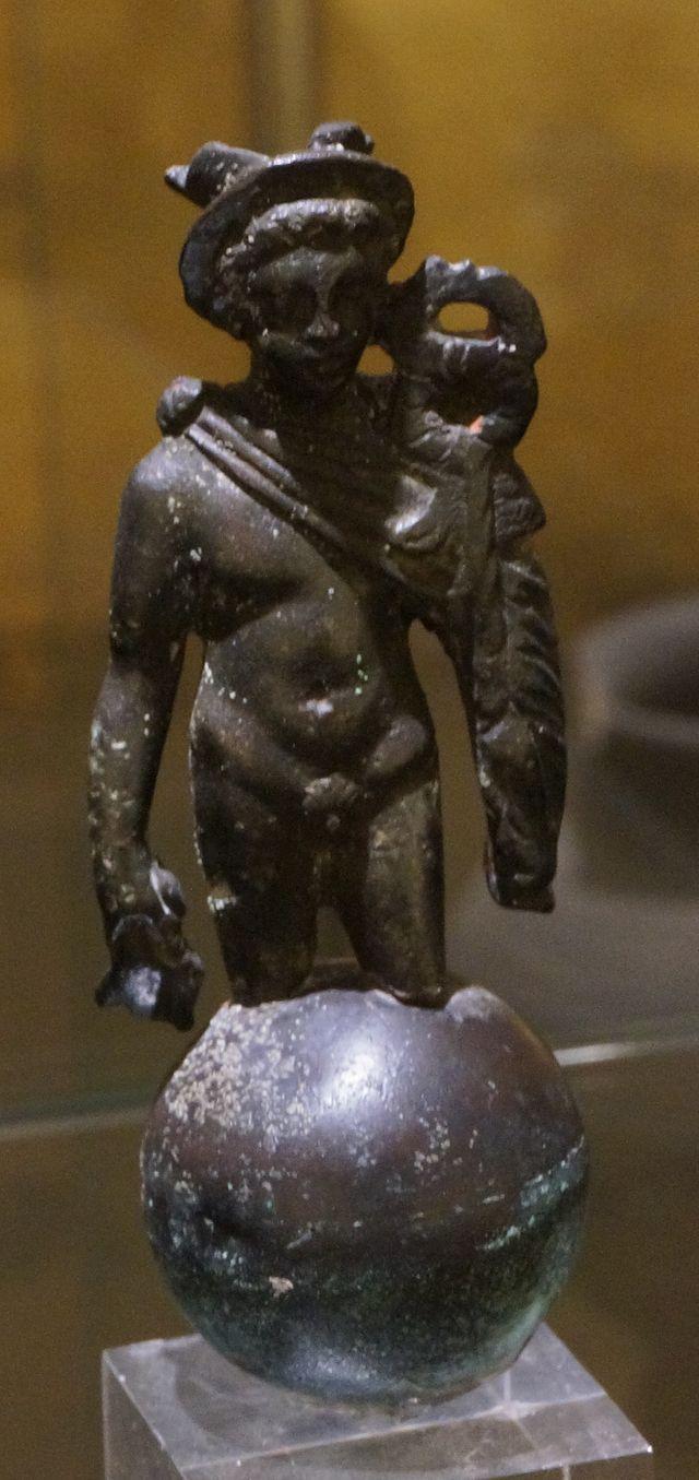 Mercurio. Musée de l'Ardenne .