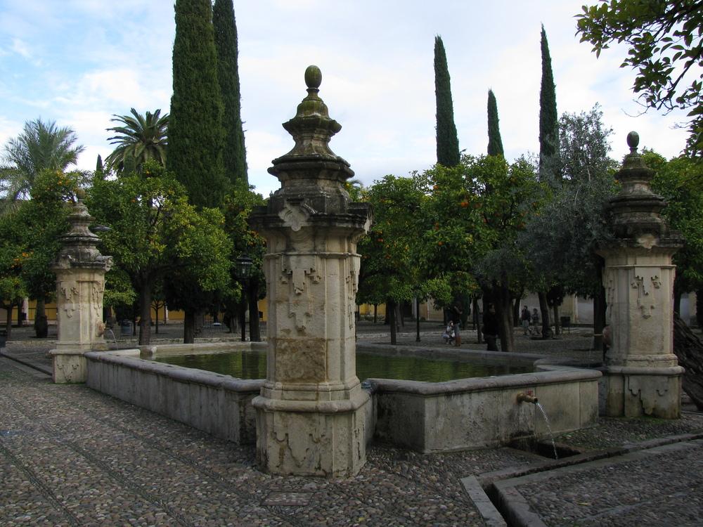 Fuente del Patio de los Naranjos de la Mezquita de Córdoba