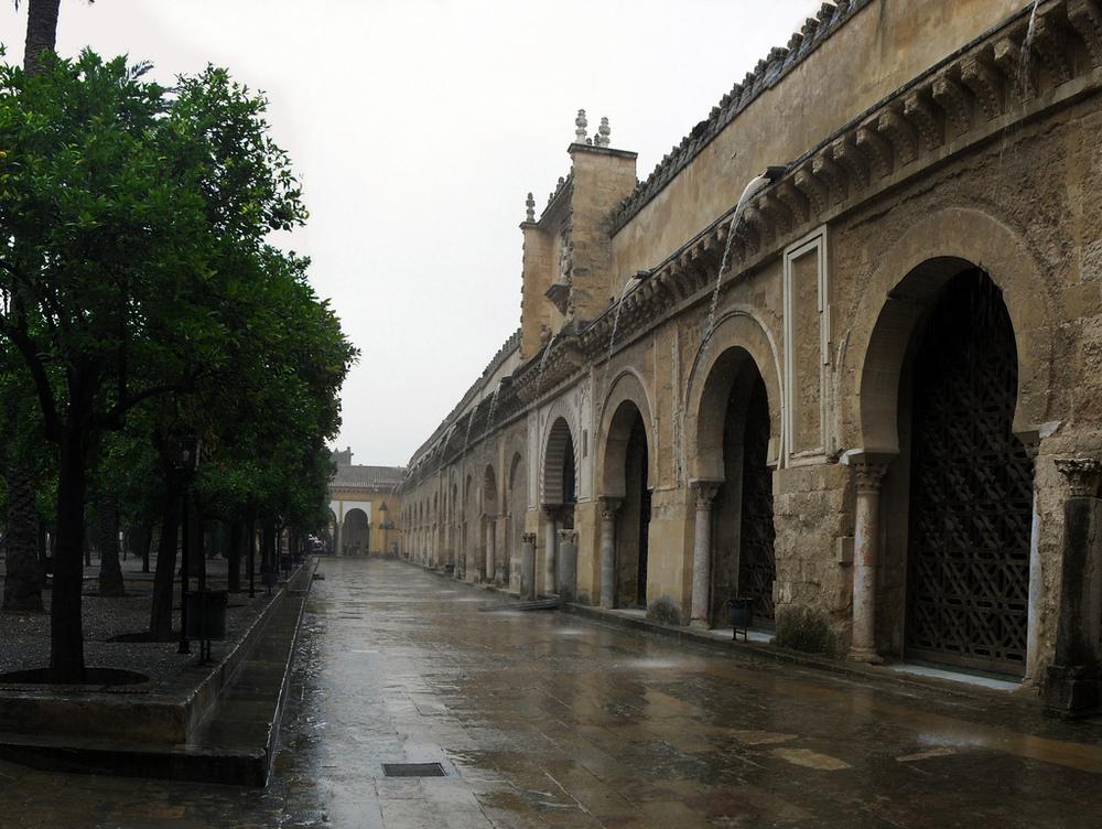 Patio_de_los_naranjos_-Muro sur-_Mezquita-catedral_de_Córdoba