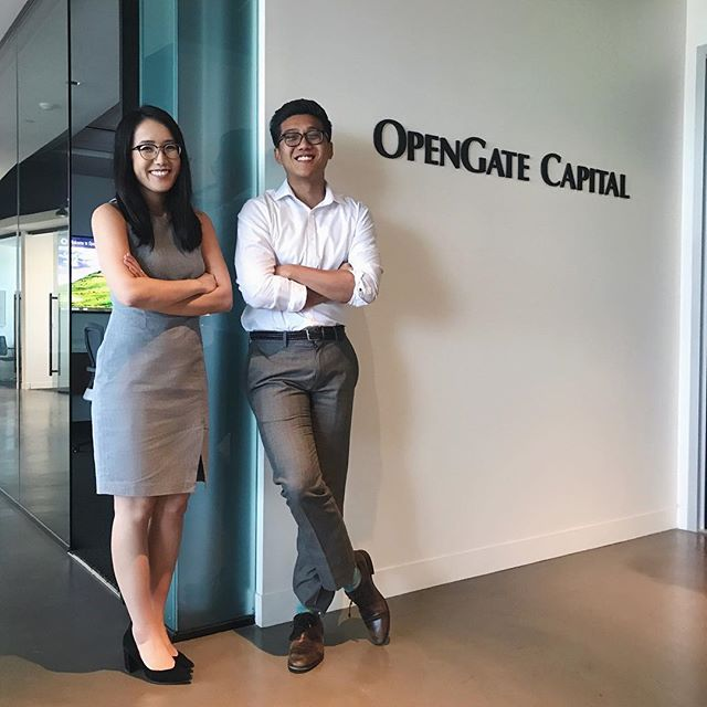 Our brothers, Amy Lin (Spring '17), and Jason Soriano (Spring '16) are #BackInBusiness as Summer Analysts 💸 at OpenGate Capital, a private equity firm that invests in corporate divestitures. They love learning about different industries 🏙 and what makes a business successful. Jason's a big fan of the NBA 🏀 and Quentin Tarantino films. In his free time, he enjoys cooking Filipino food and learning about the healthcare 🏥 industry. Amy's an LA native, matcha enthusiast, and an incoming intern at Moelis. When Amy's not working, she's most likely at Din Tai Fung 🍛 or a new boba shop!
