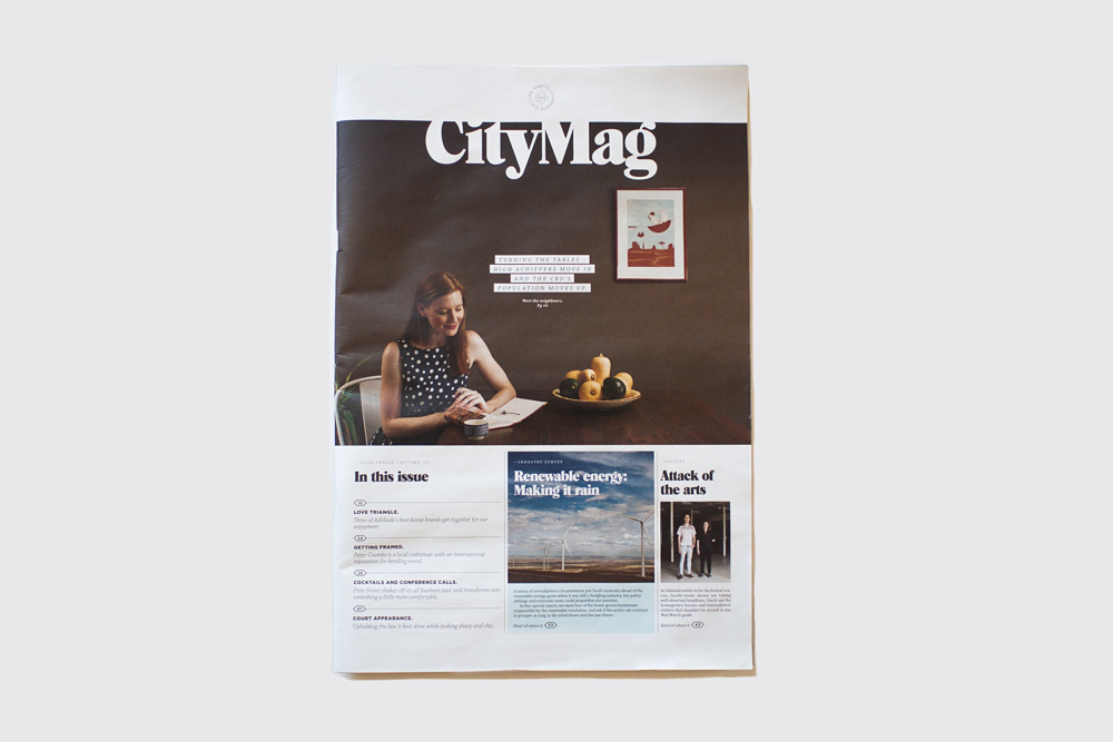 CityMag Layout Design