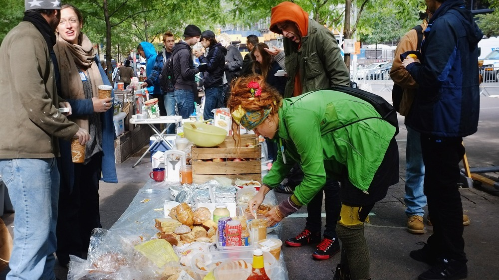 Image: Occupy Wall St. kitchen