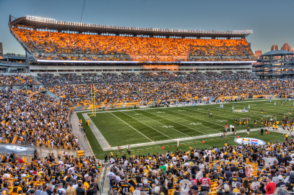 Tomorrow, Heinz Field will host the Steelers at home in Pittsburgh against the Cincinnati Bengals for the AFC North title. Photo: Matthew Paulson via Flickr Creative Commons