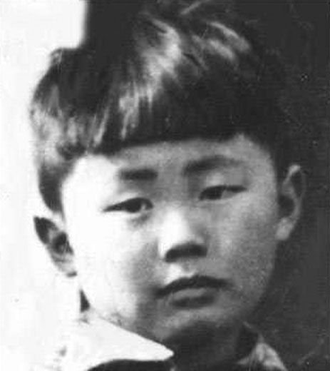 Takei as a child at Rohwer Internment Camp in Arkansas
