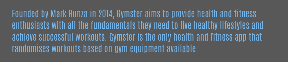 About Gymster