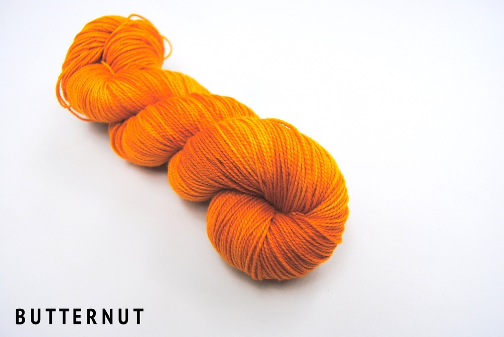 BUTTERNUT on superwash merino fingering.jpg