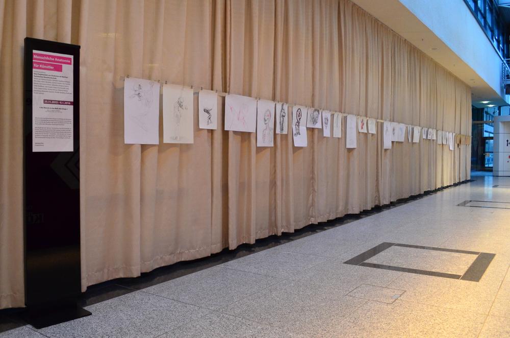 Ausstellung - Menschliche Anatomie für Künstler: eine offene Klasse ...