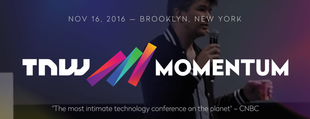 Bokio was a selected startup for the TNW Momentum Conference in NY.
