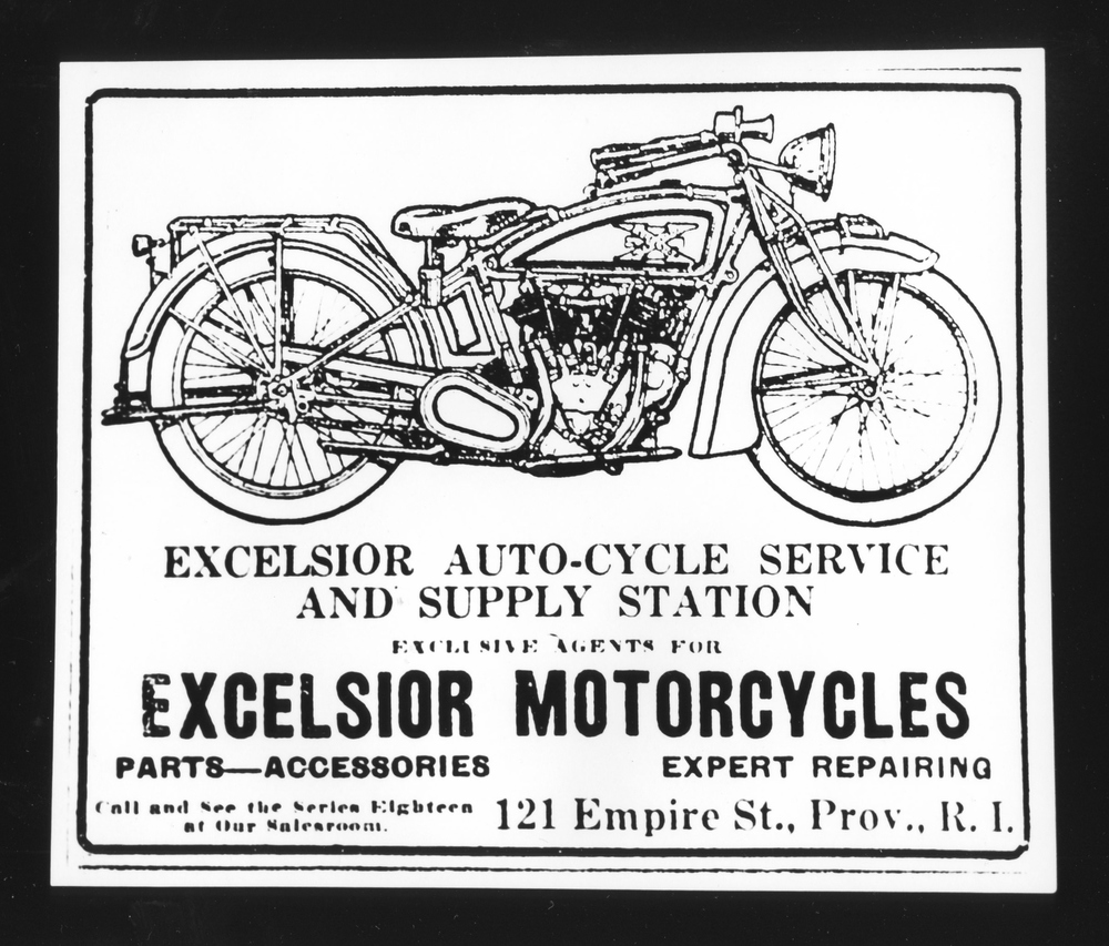 Excelsior Motorcycles - Gelatin Silver Print