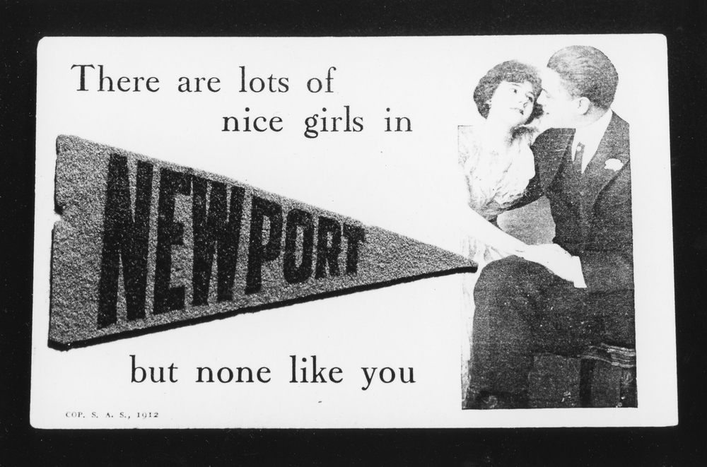 Nice Girls in Newport - Gelatin Silver Print