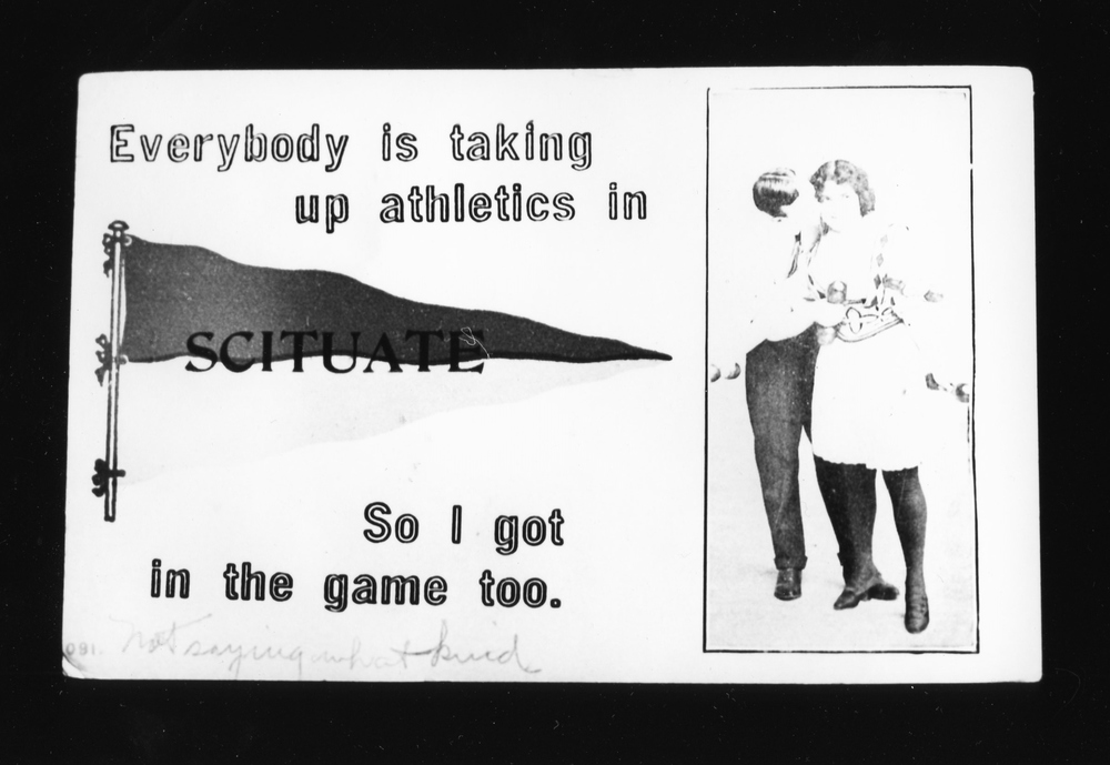 Taking up Athletics - Gelatin Silver Print