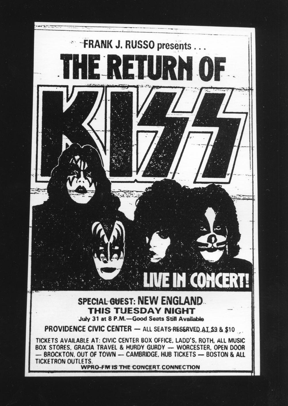 The Return of Kiss - Gelatin Silver Print