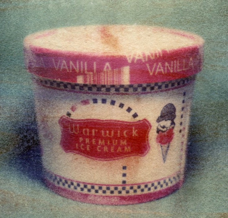 Warwick Ice Cream  Polaroid transfer