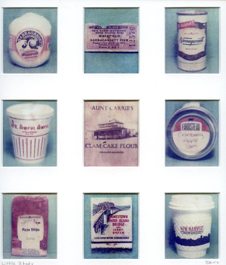 Memories of Rhode Island - Polaroid transfers