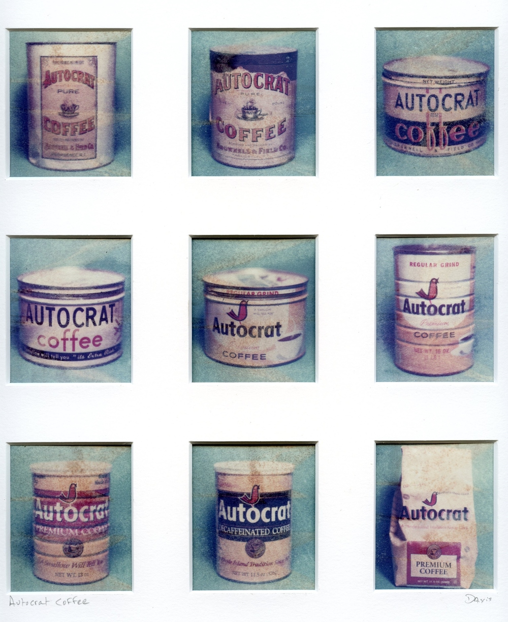 Autocrat Coffee - Polaroid transfers