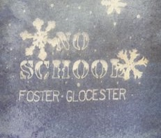 No School Foster Glocester - Polaroid transfer