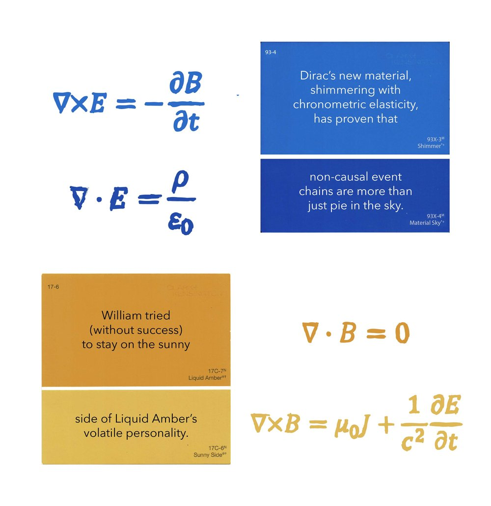 Liquid Amber/Paul Dirac