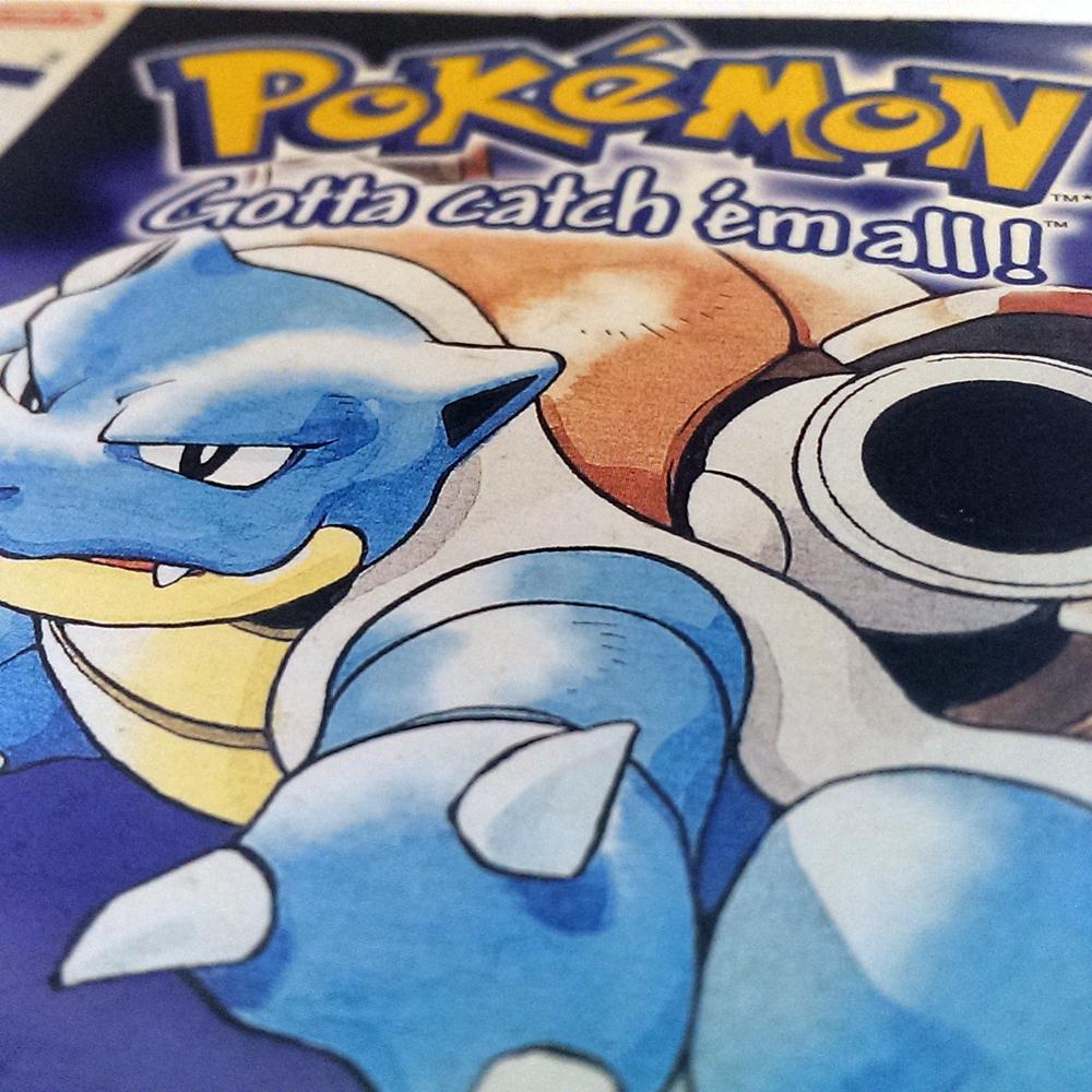Pokemon Blue- Nintendo Game Boy - 1996 to 1999