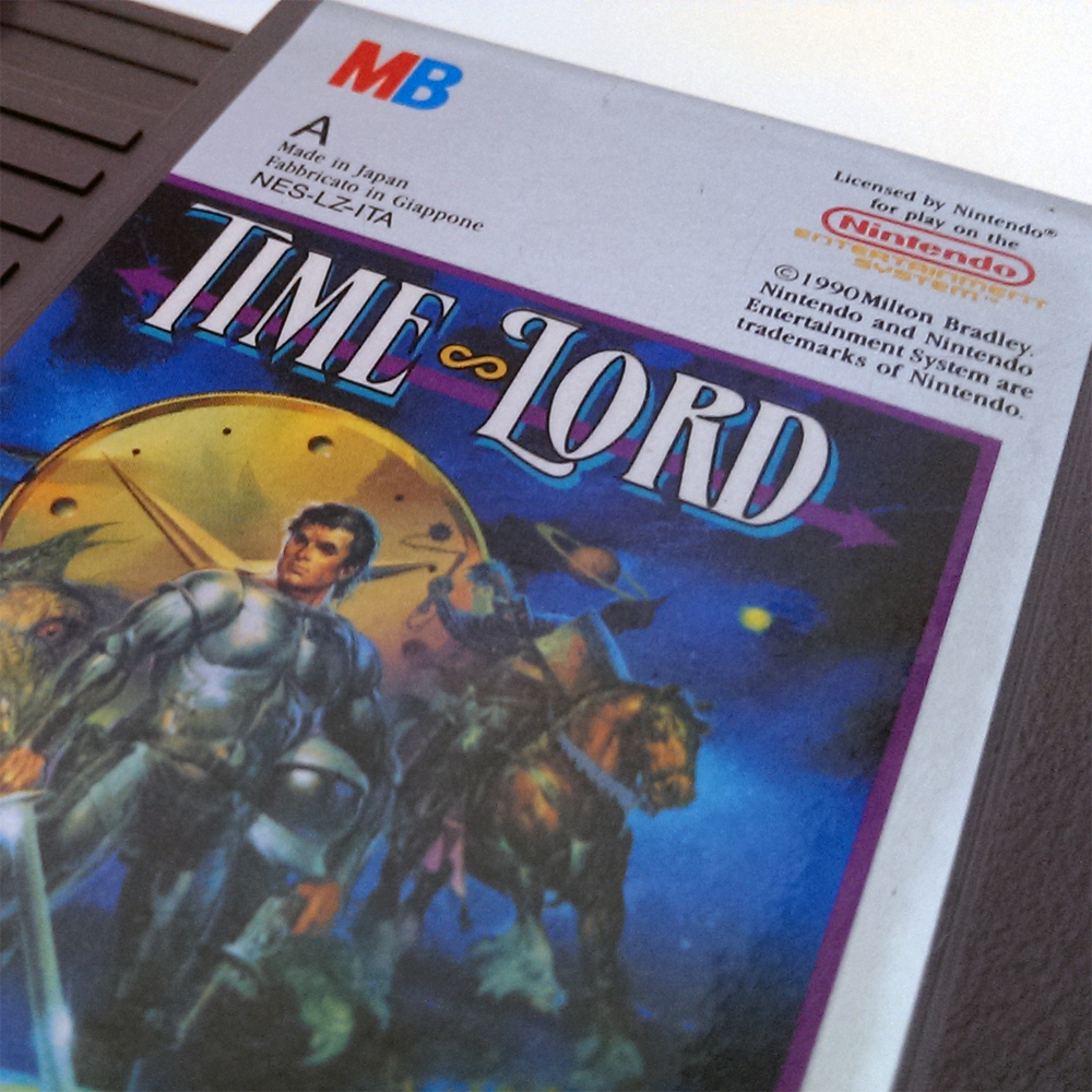 Time Lord - Nintendo Entertainment System (NES) - 1990 to 1991