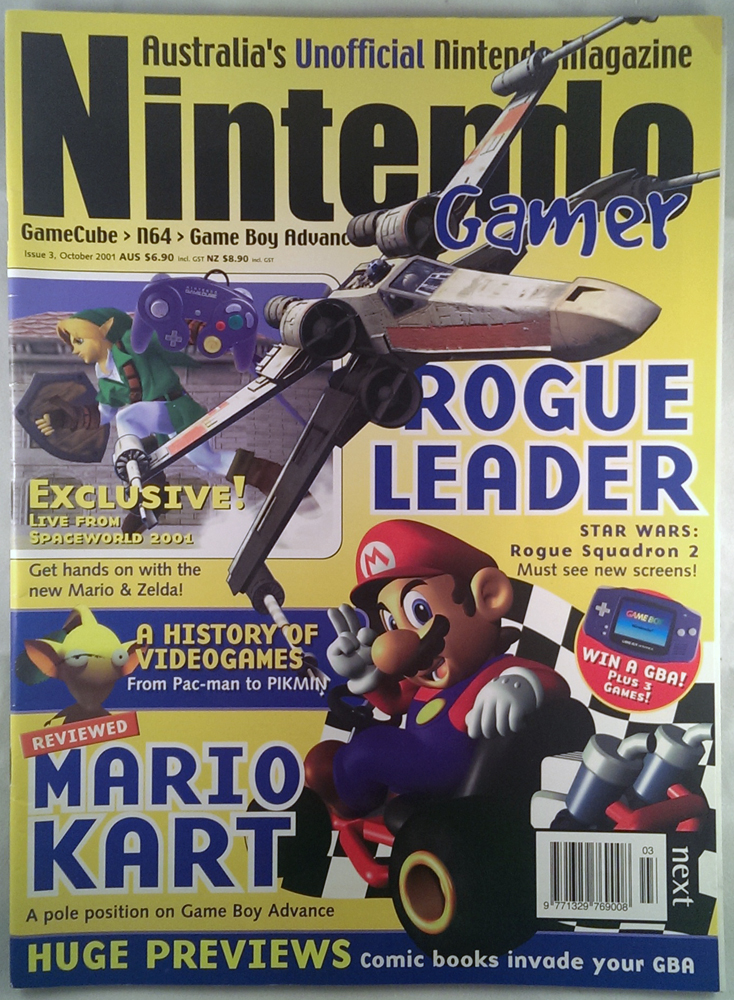 Nintendo Gamer Issue 3