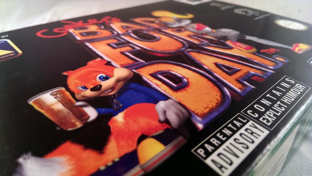Conkers Bad Fur Day - Nintendo 64 - 2001