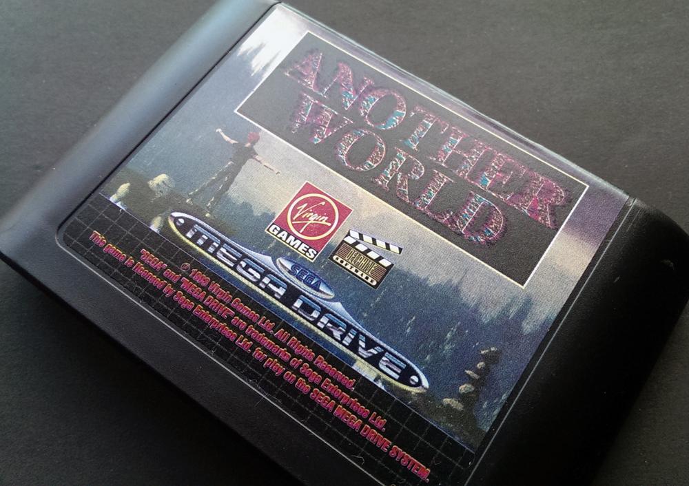 Another World - Sega Mega Drive(Genesis) - 1991
