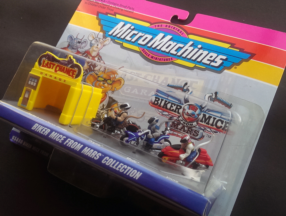 Biker Mice From Mars - Micro Machines - 1993