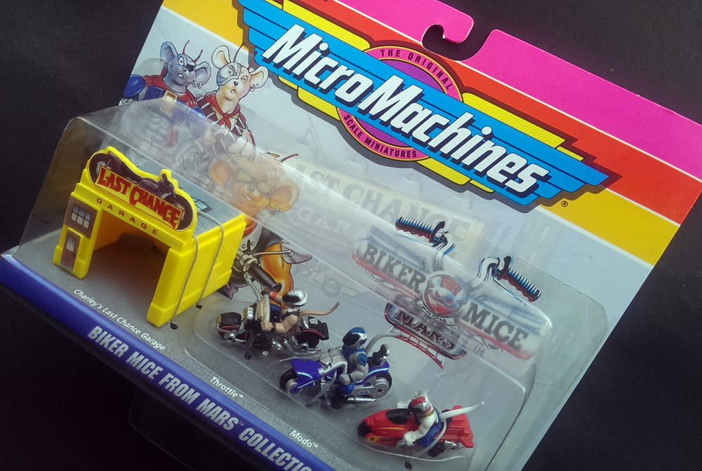 Micro Machines - Biker Mice From Mars