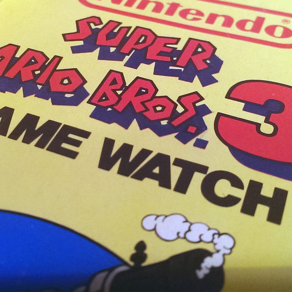 Super Mario Bros. 3 - Game Watch