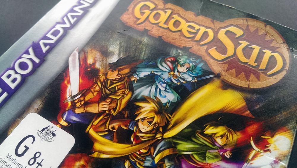 Golden Sun- Gameboy Advance(GBA) - 2001to 2002