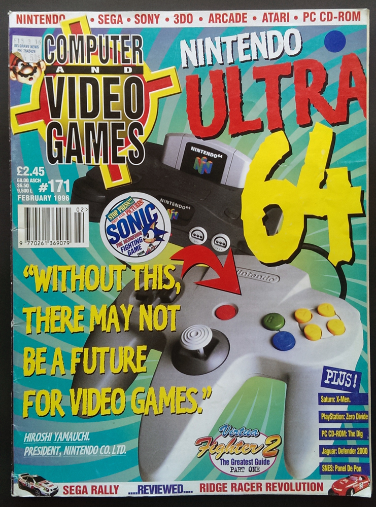 Computer & Video Games - Issue 171