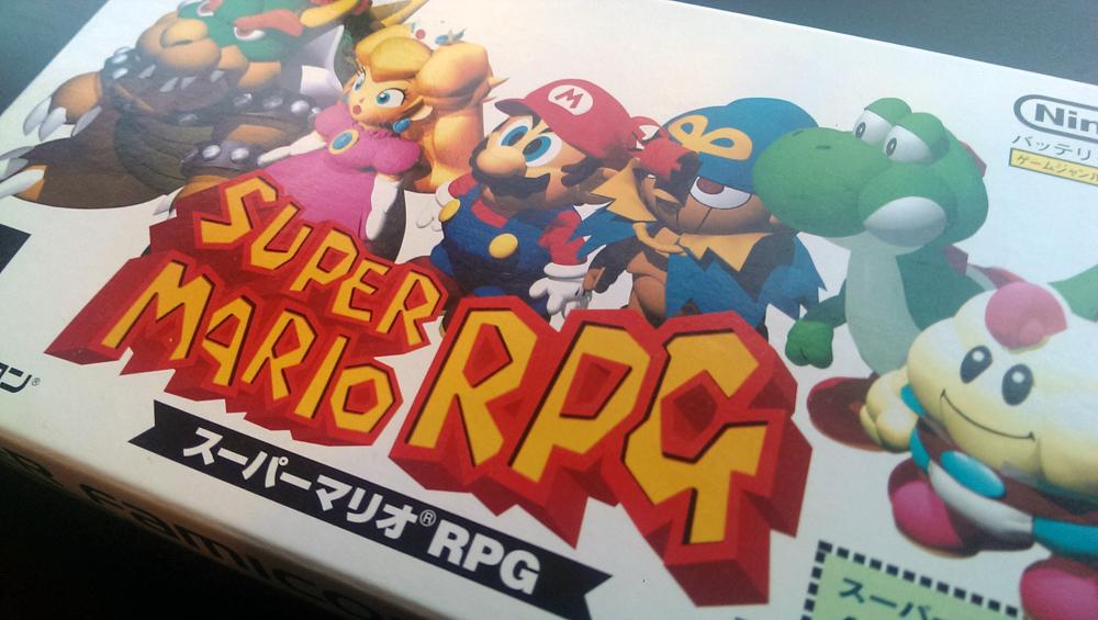 Super Mario RPG- Super Nintendo (SNES) - 1996&2008
