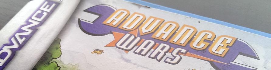 Advance Wars - Gameboy Advance (GBA) - 2001