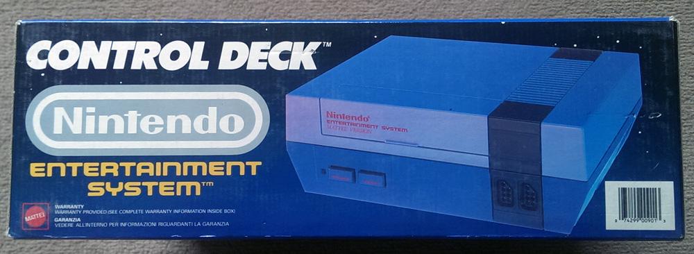 Nintendo Entertainment System - PAL Version - 1983 to 1987