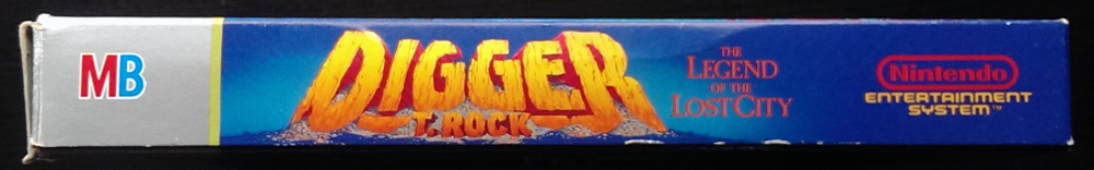 Digger T. Rock: The Legend of the Lost City- NES - 1990