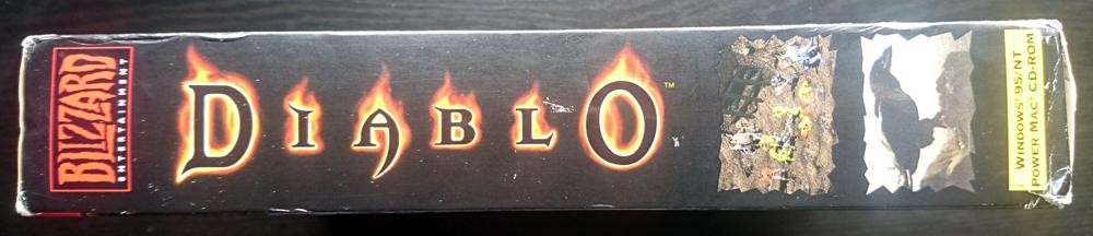 Diablo- Windows, Mac, Playstation - 1996 to 1998