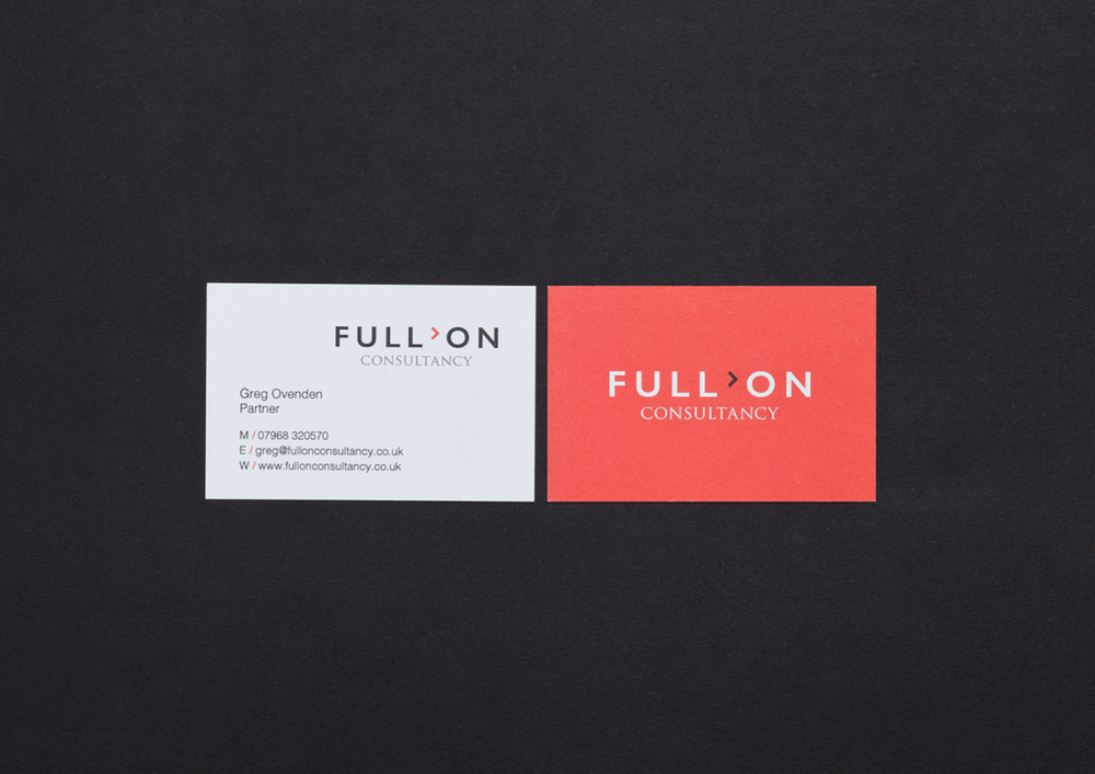 Full on consultancy branding business cards and presentation website jpegs jan 16 110 dpi32g colourmoves