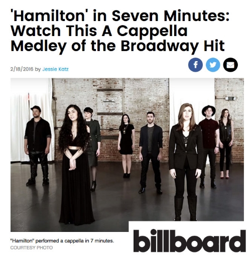 Click Through to Read about the Medley on Billboard.Com