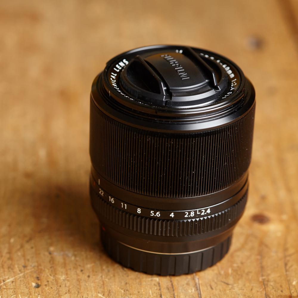 Fujifilm 60mm f/2.4 R Macro