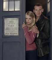 This guy is the 9th Doctor, Christopher Eccleston.